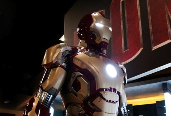 Iron Man 3 - Mark 8 (VIII) Armour (Armor)