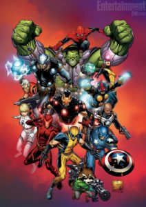 Marvel NOW! Art - EW