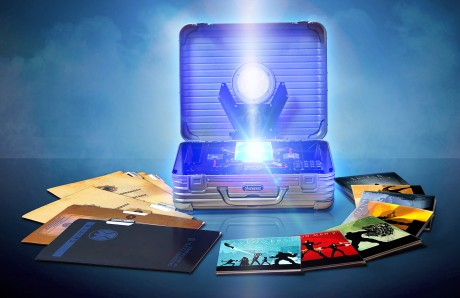 Marvel Cinematic Universe Phase One Blu-ray Case