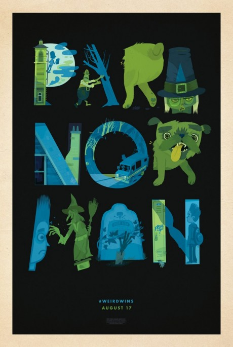 ParaNorman Mondo poster - Little Friends of Printmaking