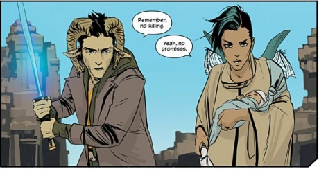 Saga #5 - Fiona Staples