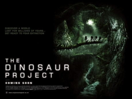 The Dinosaur Project - UK Quad poster