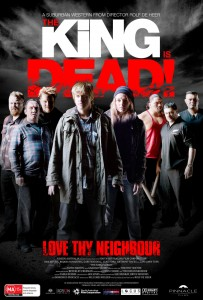 The King is Dead - Australian poster