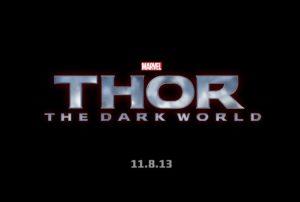 Thor: The Dark World poster logo
