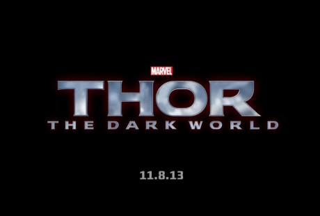 Thor: The Dark World poster logo