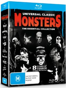 Universal Monsters: The Essential Collection Blu-ray