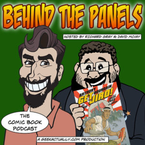 Behind the Panels - Cover Art - Issue 37
