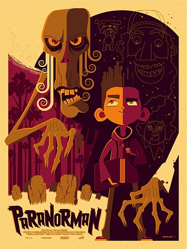 ParaNorman - Tom Whalen poster