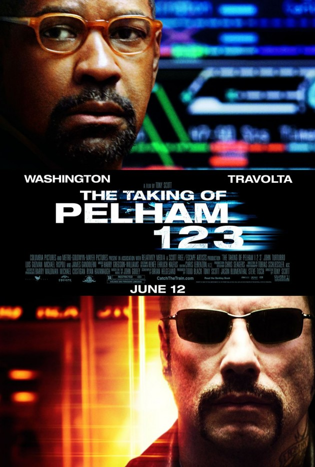 Taking of the Pelham 123 poster