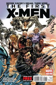The First X-Men #1 - Cover (Neal Adams)