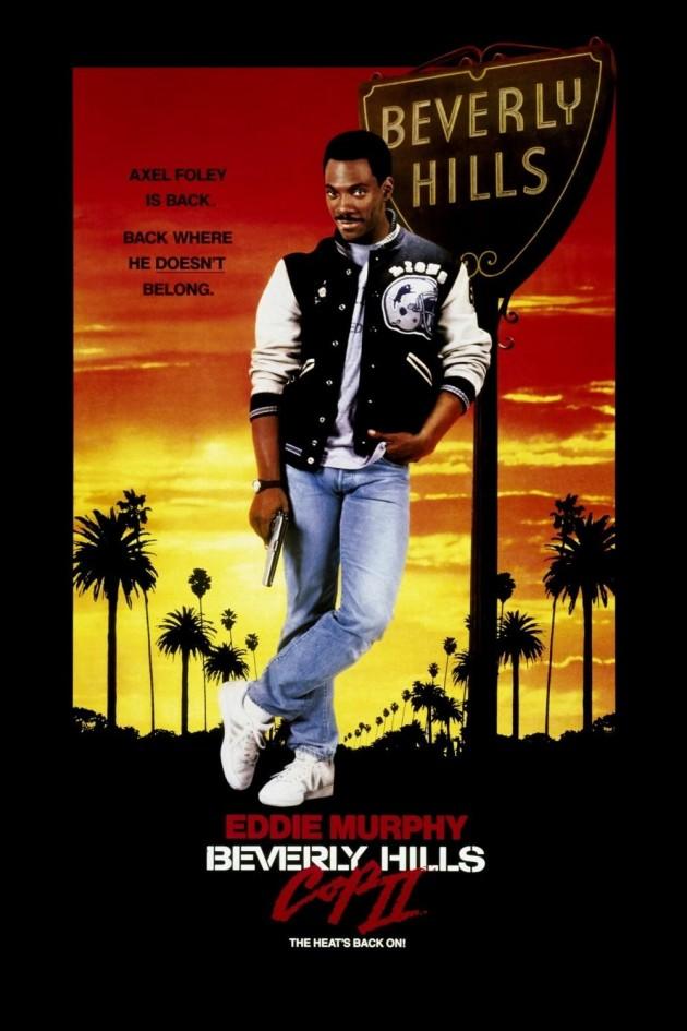 Beverly Hills Cops II poster