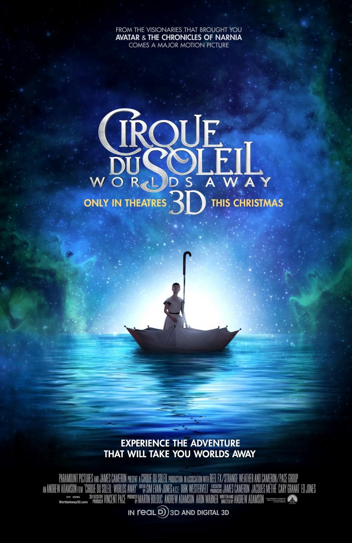 Poster design best - Cirque Du Soleil Worlds Away Poster