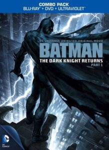 The Dark Knight Returns, Part 1 - Blu-ray Cover
