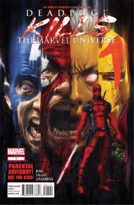 Deadpool Kills the Marvel Universe #1 Cover