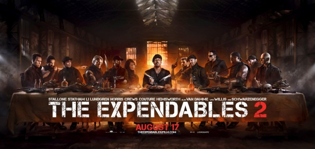 The Expendables 2 poster - The Last Supper