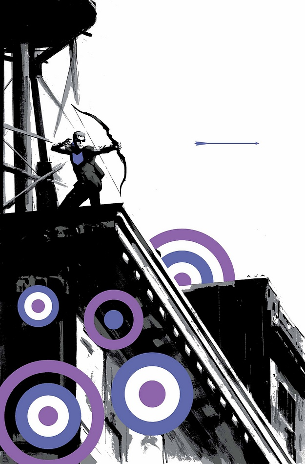 Hawkeye #1 - David Aja