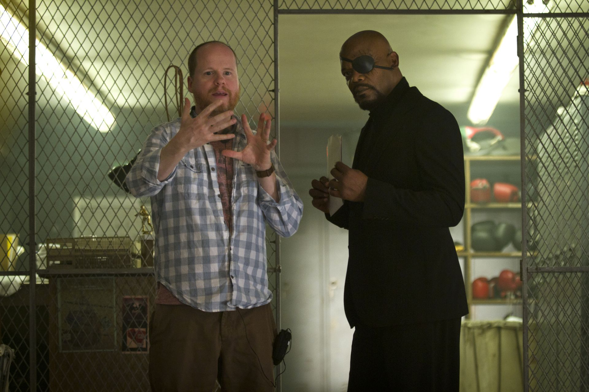 Joss Whedon - The Avengers Set - Samuel L. Jackson