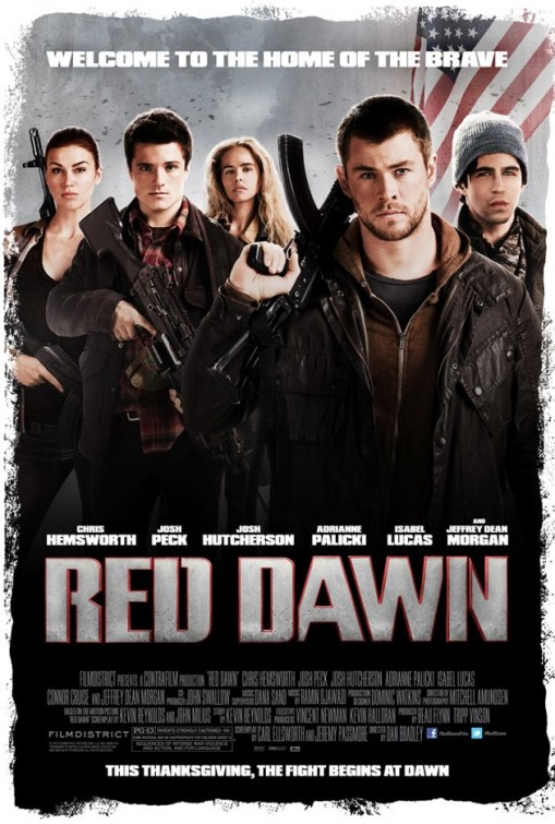 RED DAWN (2012) poster