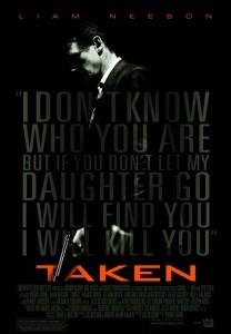 Taken poster - Liam Neeson