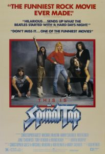 This Is Spinal Tap poster (1984)