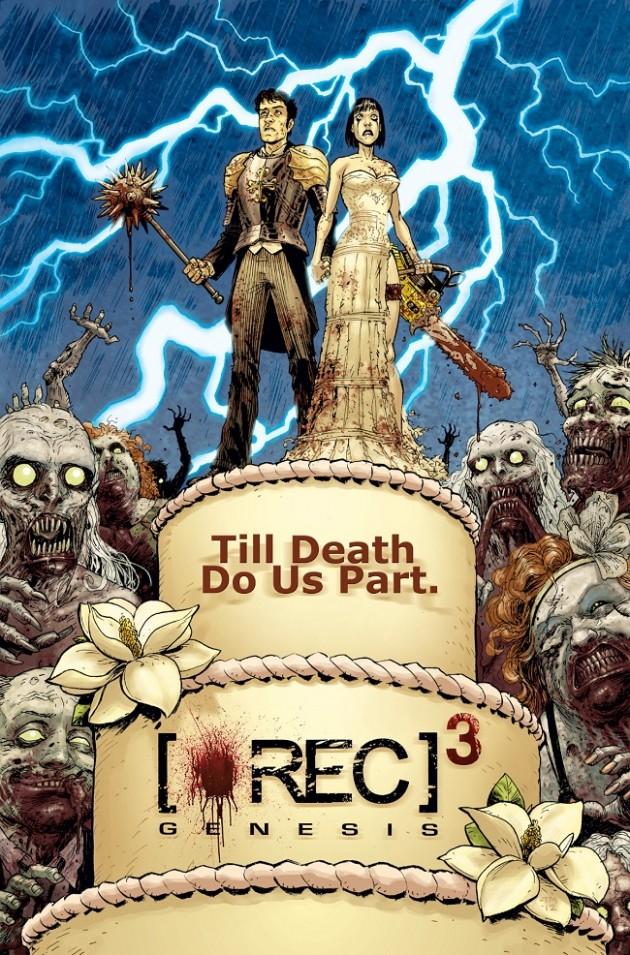 Rec 3 poster - Tony Moore
