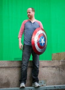 Joss Whedon - Captain America shield