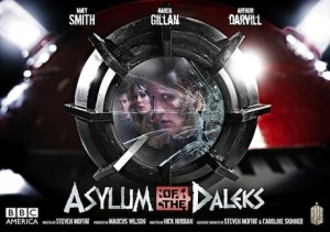 Asylum of the Daleks poster - Doctor Who