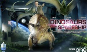 Doctor Who - Dinosaurs on a Spaceship poster