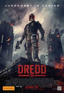 Dredd poster - Australia
