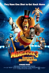 Madagascar 3: Europe's Most Wanted poster - Australia