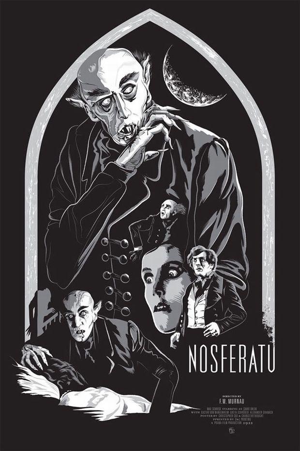 Nosferatu - Christopher Cox for Changethethought
