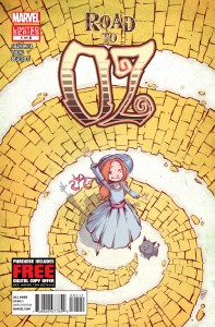 The Road to Oz #1 (Skottie Young)