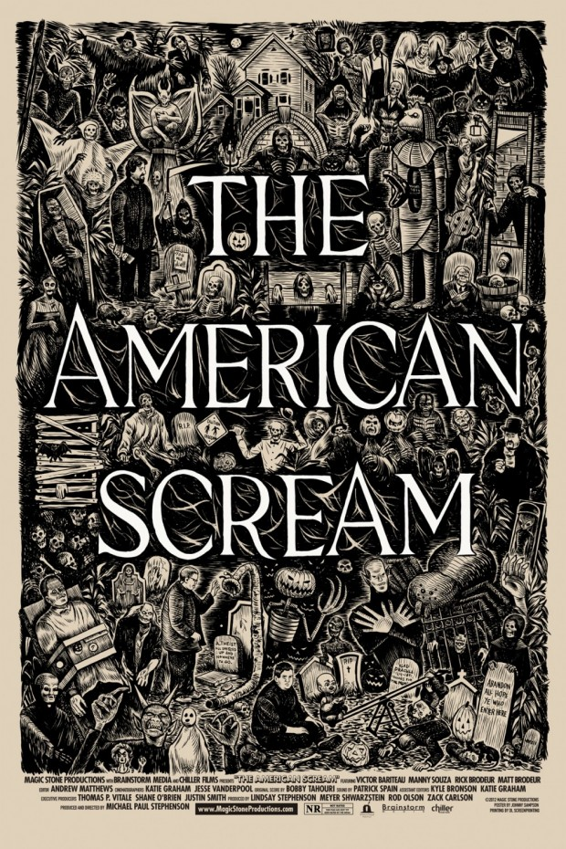 The American Scream poster - Johnny Sampson