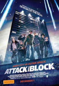 Attack the Block - Australian poster