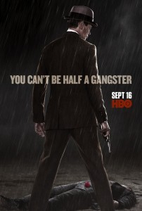 "Boardwalk Empire - Season 3 Poster - ""You Can't Be Half A Gangster"""