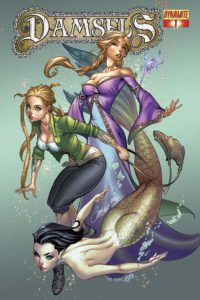 Damsels #1 cover (Dynamite)