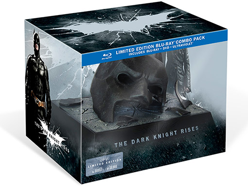 The Dark Knight Rises - Collector's Edition Blu-ray Mask