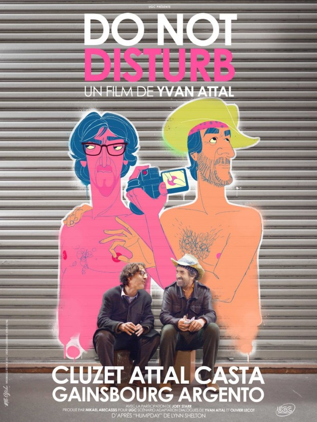 Do Not Disturb poster - Mlle Affiche
