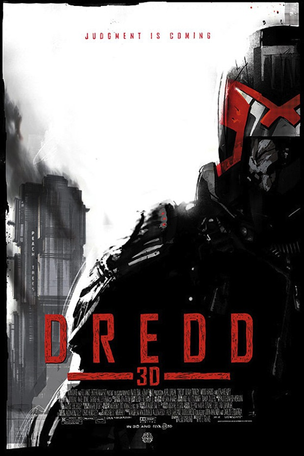 Dredd 3D - Mondo poster - Jock