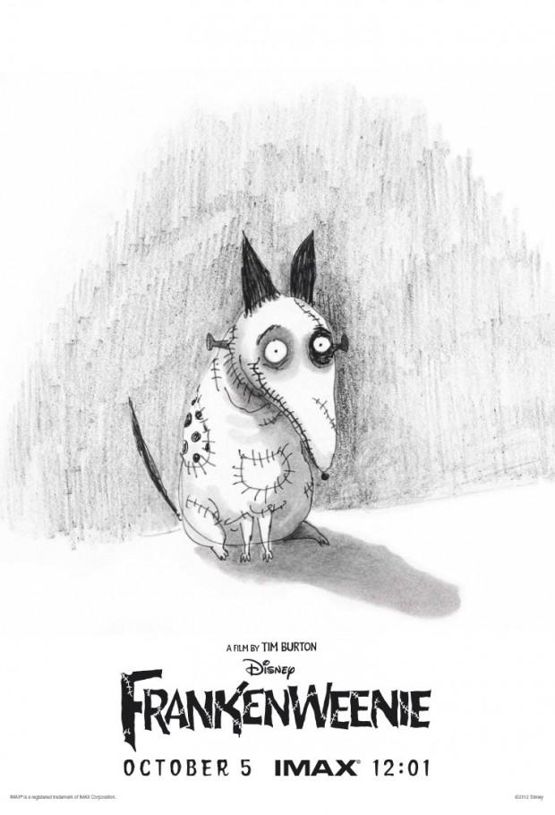 Frankenweenie IMAX poster