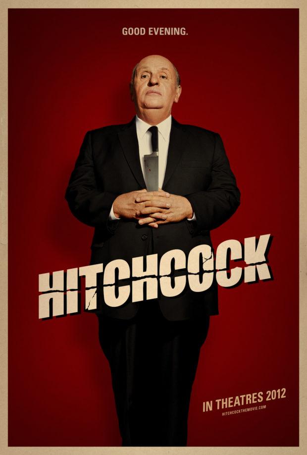 Hitchcock poster - Anthony Hopkins - Bemis Balkind
