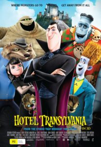 Hotel Transylvania poster - Australia
