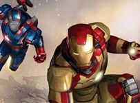 Iron Man 3 - Mark XLVII and Iron Patriot Armour (Armor)