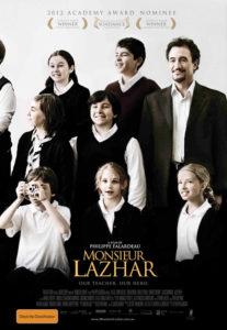 Monsier Lazhar poster - Australia