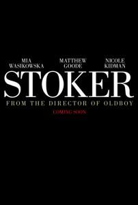 Stoker - Teaser poster