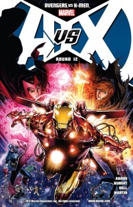 Avengers vs X-Men #12 Cover