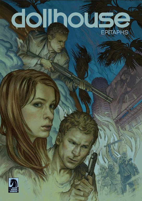 Dollhouse - Comic Book Cover