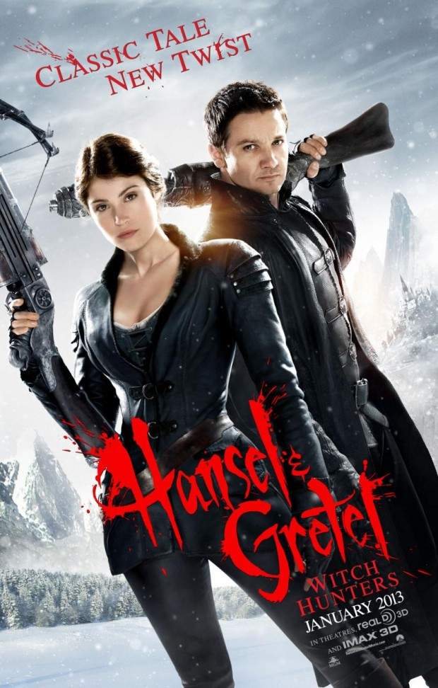 Hansel and Gretel: Witch Hunters poster