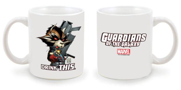 Marvel: NYCC - Guardians of the Galaxy (Rocket Raccoon) Mug