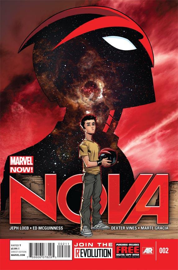 Nova #1 (2013) Cover
